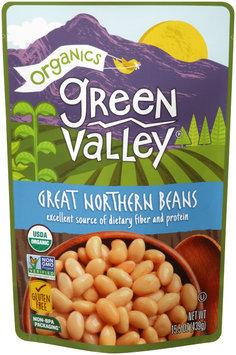 Green Valley® Organics Great Northern Beans 15.5 oz. Pouch