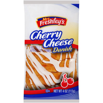 Mrs. Freshley's® Cherry Cheese Danish 4 oz. Wrapper
