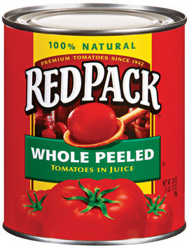 RedPack Whole eeled TOmatoes in Juice 28 oz Can