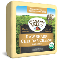 Organic Valley® Raw Sharp Cheddar