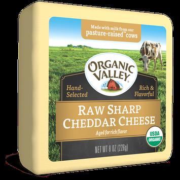 Organic Valley® Raw Sharp Cheddar
