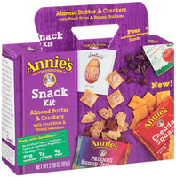 Annie's®  Homegrown Almond Butter & Crackers Snack Kit