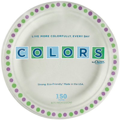 Colors by Chinet® 8.75 Inch Plates 150 ct