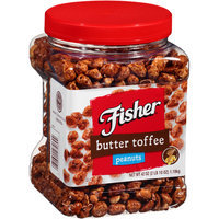 Fisher® Butter Toffee Peanuts 42 oz. Plastic Container