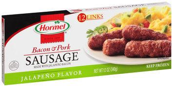 Hormel® Jalapeno Flavor Bacon & Pork Sausage 12 oz. Box