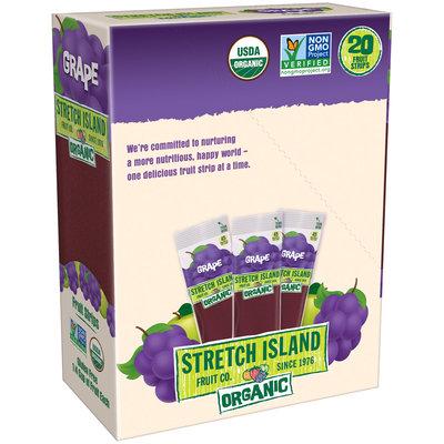 Stretch Island® Grape Organic Fruit Strips 20-0.5 oz. Packs
