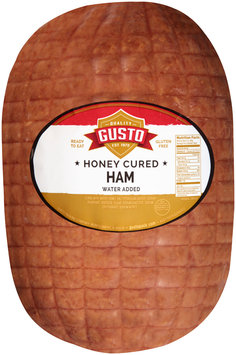 Gusto Honey Cured Ham Package