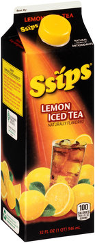 Ssips® Lemon Iced Tea 32 fl. oz. Carton
