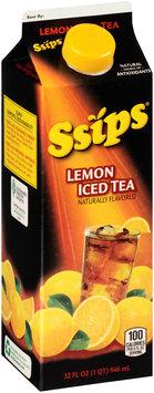 Ssips® Lemon Iced Tea 32 fl. oz. Carton