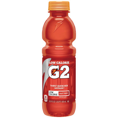 Gatorade® G Series® G2® Perform Low Calorie Fruit Punch Sports Drink 16.9 fl. oz. Bottle