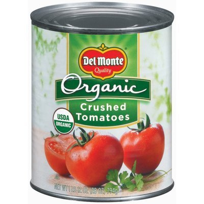 Del Monte Organic Crushed Tomatoes 28 oz. Can