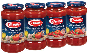 Barilla® Spicy Marinara/Roasted Garlic Pasta Sauce 4-24 oz. Jars