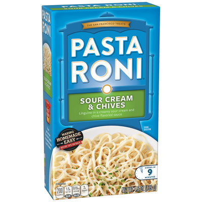 Pasta Roni® Sour Cream & Chives Linguine 4.9 oz. Box