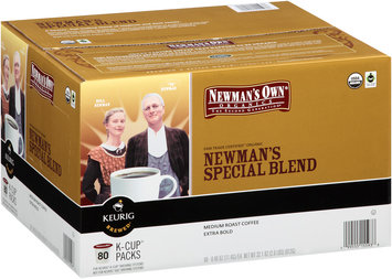 Newman's Own® Organics Newman's Special Blend Medium Roast Coffee K-Cup® Packs 80 ct Box