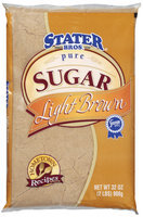 Stater Bros. Pure Light Brown Sugar 32 Oz Bag