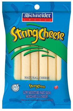 Schneider Natural Mozzarella String Cheese