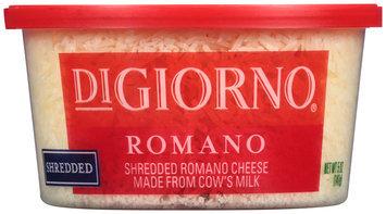 DiGiorno® Shredded Romano Cheese 5 oz. Tub