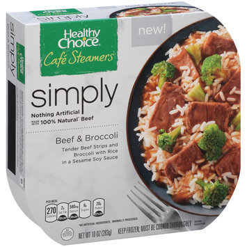 Healthy Choice® Cafe Steamers® Simply Beef & Broccoli