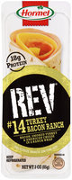 Hormel™ REV® #14 Turkey Bacon Ranch Snack Wrap 3 oz. Tray