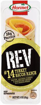 Hormel™ REV® #14 Turkey Bacon Ranch Snack Wrap 3 oz. Tray