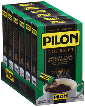 Pilon® Decaffeinated Instant Coffee 6-.09 oz. Packets