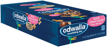 Odwalla® Dark Chocolate Chip Walnut Nourishing Bar 30 oz. Box