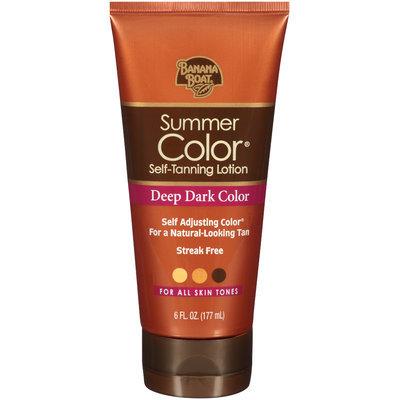 Banana Boat® Summer Color® Deep Dark Color Self-Tanning Lotion 6 fl. oz. Tube