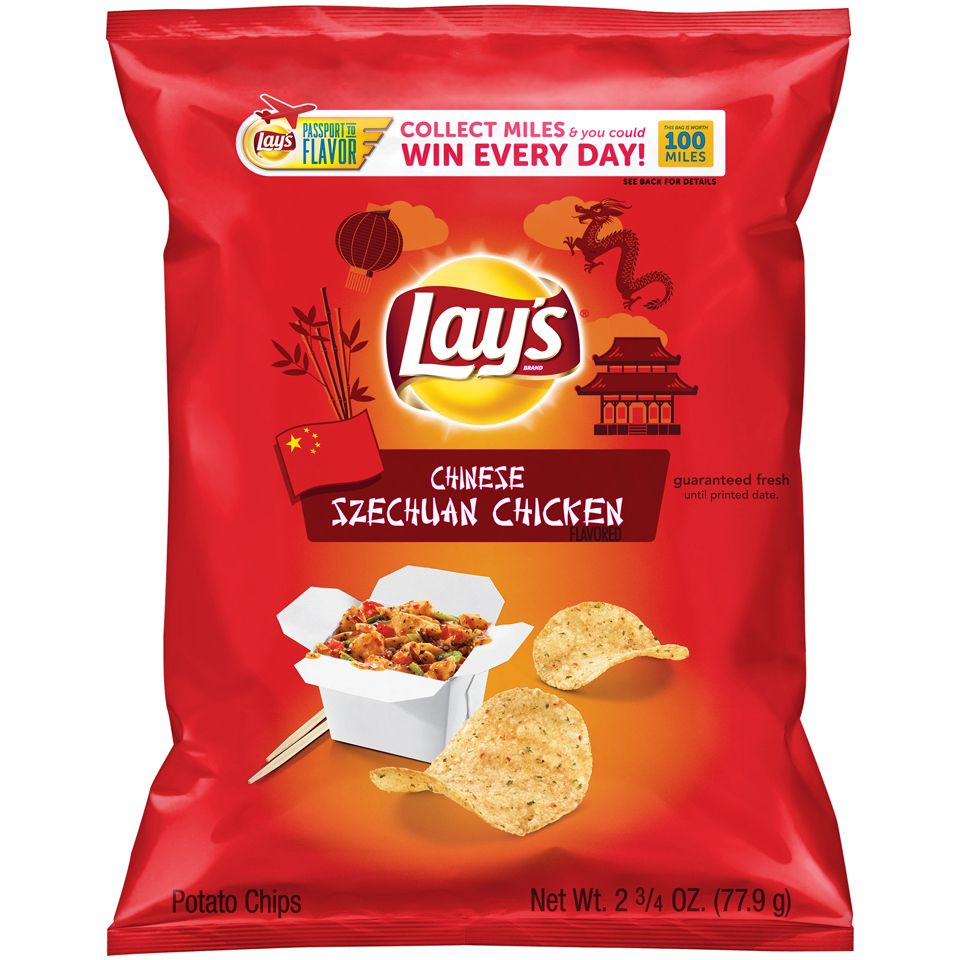 LAY'S® Chinese Szechuan Chicken Flavored Potato Chips