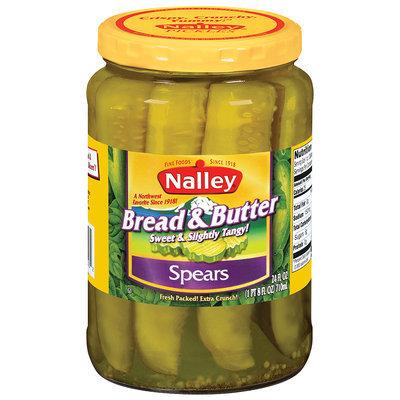 Nalley® Bread & Butter Pickle Spears 24 fl. oz. Jar