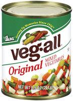 Veg-All Original Mixed Vegetables 8.5 Oz Can