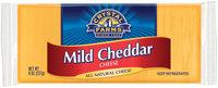 Crystal Farms Cheddar Mild Cheese 8 Oz Brick