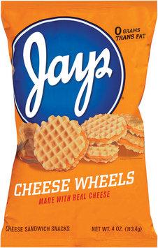 Jays Cheese Wheels Cheese Sandwich Snacks 4 Oz Bag