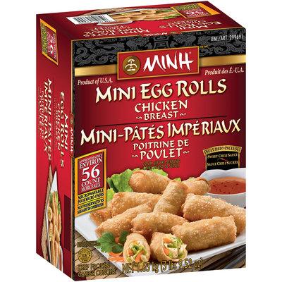 Minh®™ Chicken Breast Mini Egg Rolls 56 ct Box