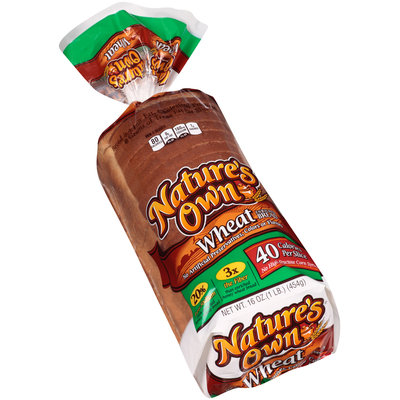 Nature's Own® 40 Calorie Wheat Bread 16 oz. Loaf