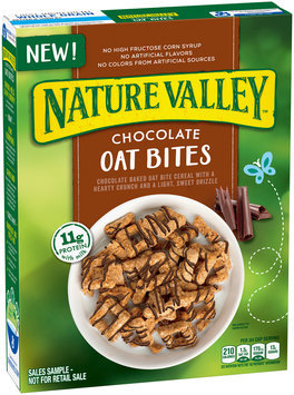 Nature Valley™ Chocolate Oat Bites Cereal 14 oz. Box