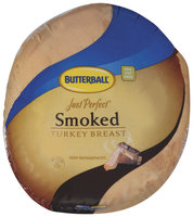 Butterball Just Perfect Smoked Turkey Breast   Poly Bag