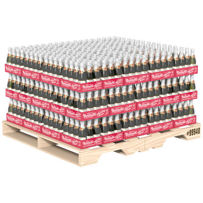 Martinelli's Sparkling Apple Cider 8.4 oz Combo Half Pallet (12 Packs)