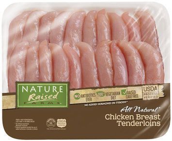 Nature Raised Farms® All Natural Chicken Breast Tenderloins Pack