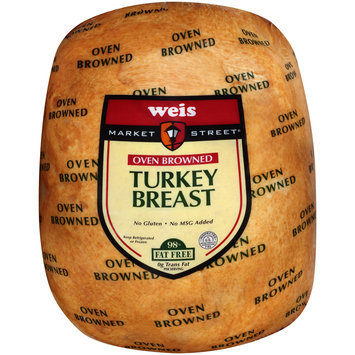 Weis Market Street® Oven Browned Turkey Breast Pack