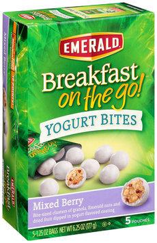 Emerald® Mixed Berry Breakfast on the Go™ Yogurt Bites 5-1.25 oz. Pouches