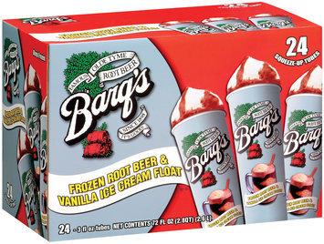 Barq's Root Beer & Vanilla 3 Fl Oz Tubes Ice Cream Float 24 Ct Box