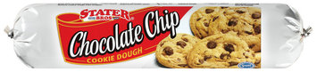 Stater Bros. Chocolate Chip Cookie Dough 16.5 Oz Wrapper