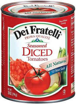 Dei Fratelli Diced Seasoned Tomatoes
