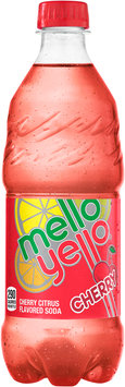 Mello Yello Cherry Soda 20 fl. oz. Plastic Bottle