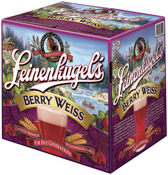 Leinenkugel's Berry Weiss 12 Oz  Bier 12 Pk Glass Bottles