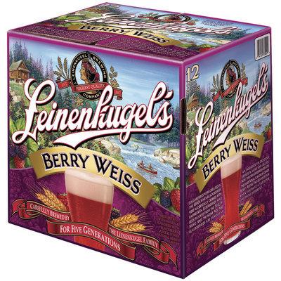Leinenkugel's Berry Weiss 12 Oz  Bier 12 Pk Glass Bottles