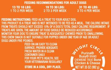 Purina Busy Bone with Chicken & Cheese Small/Medium Dog Treats 10 ct Bag