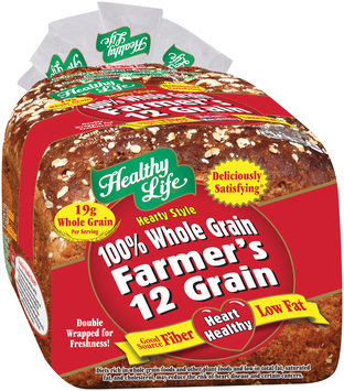 Healthy Life® Hearty Style Farmer's 12 Grain Bread