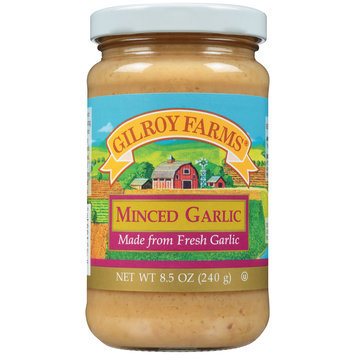 Gilroy Farms® Minced Garlic 8.5 oz. Jar