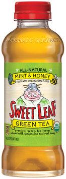 Sweet Leaf® Mint & Honey Green Tea 16 fl. oz. Bottle